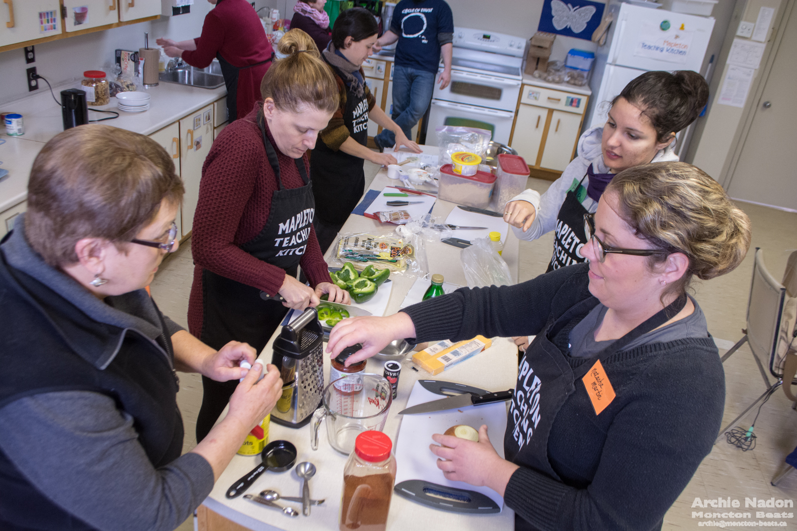 After taking the Community Food Mentor program we began to realize the number of problems that could be solved using food as a starting point.